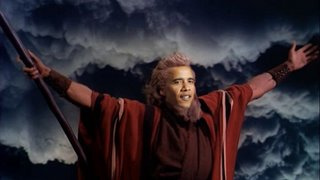 Image result for Obama moses